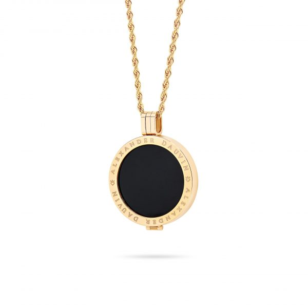 Bijou • Rose Gold Plated Opal Locket