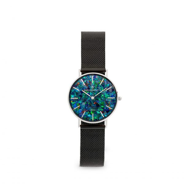 Classic Cliff Green Opal Watch - 28mm