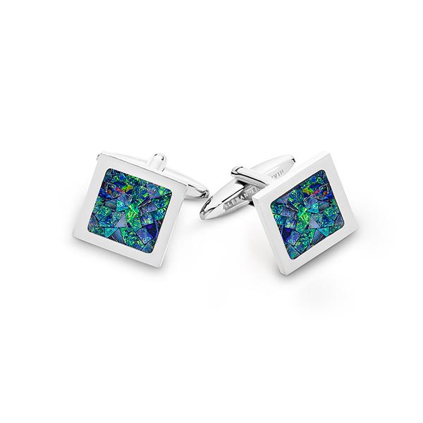 Le Carré • Ocean Opal Cufflinks