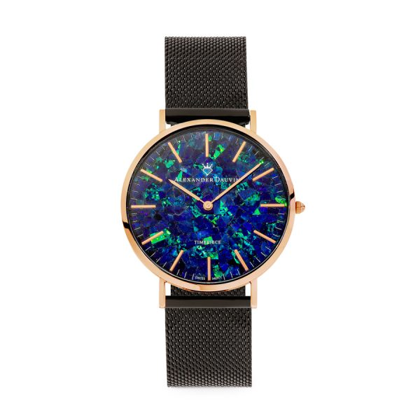 Royal Cliff Blue Opal Watch - 40mm
