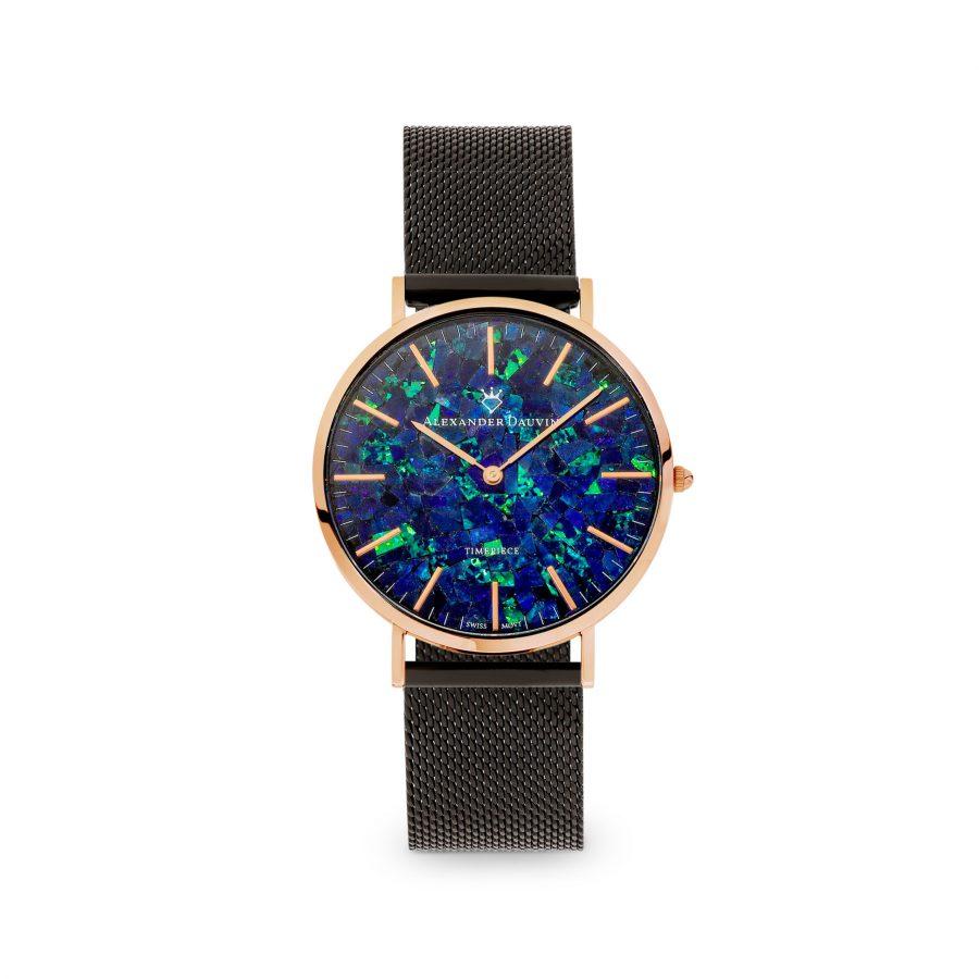 Royal Cliff Blue Opal Watch - 40mm