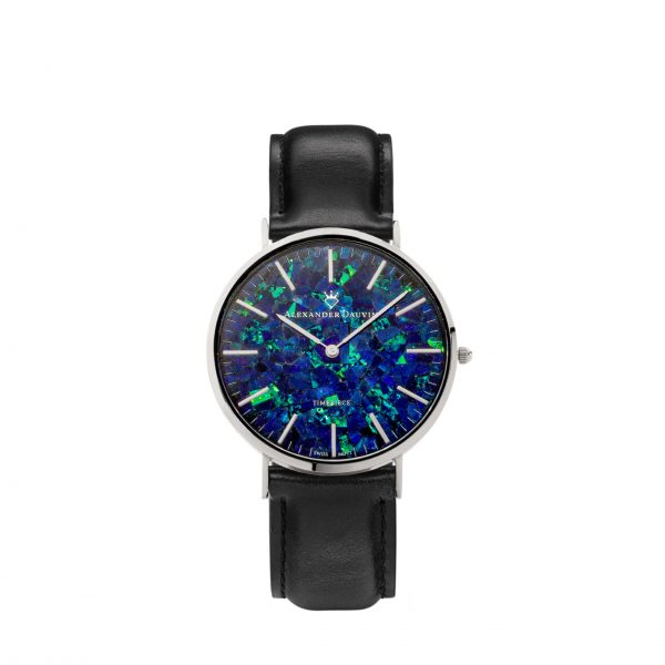 Royal Pedy Blue Opal Watch - 40mm
