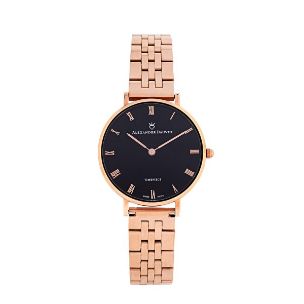 Classic Ridge Onyx Watch - 32mm