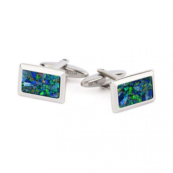Le Tableau • Ocean Opal Cufflinks