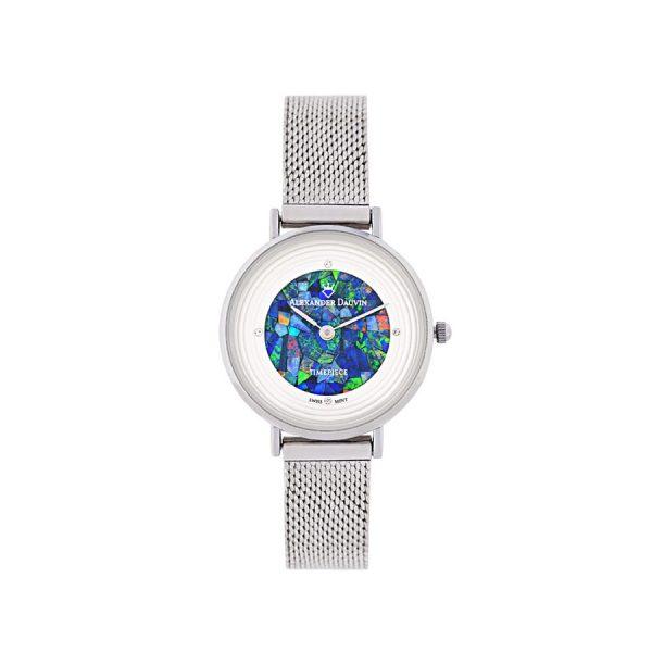 Petite Treasure Cliff Green Opal Watch - 28mm