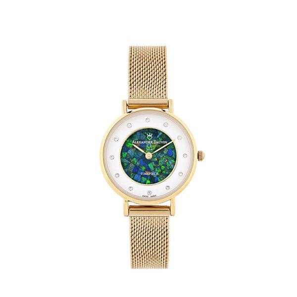 Treasure Cliff Green Opal Watch – 28mm