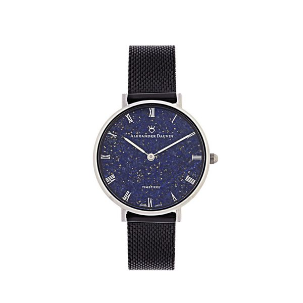 Full Lapislazuli Classic Cliff Watch - 34mm