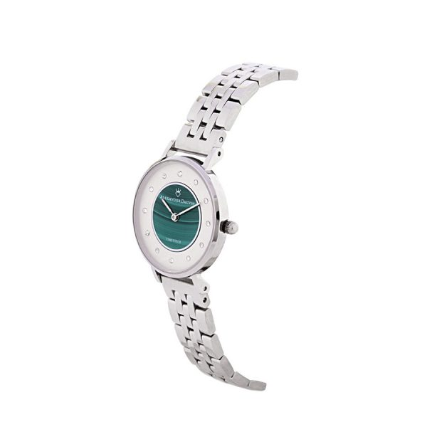 Malachite Treasure Cliff Watch - 28mm