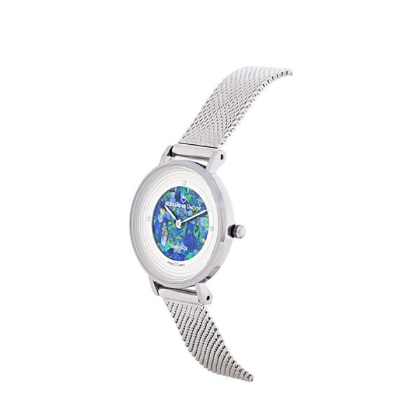 Petite Treasure Cliff Green Opal Watch - 28mm