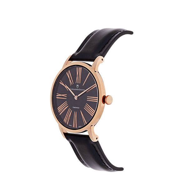 Roman Classic Pedy Onix Rose Gold Watch - 38mm