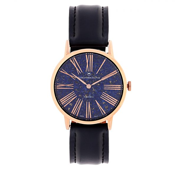Roman Classic Pedy Lapislazuli Watch - 38mm