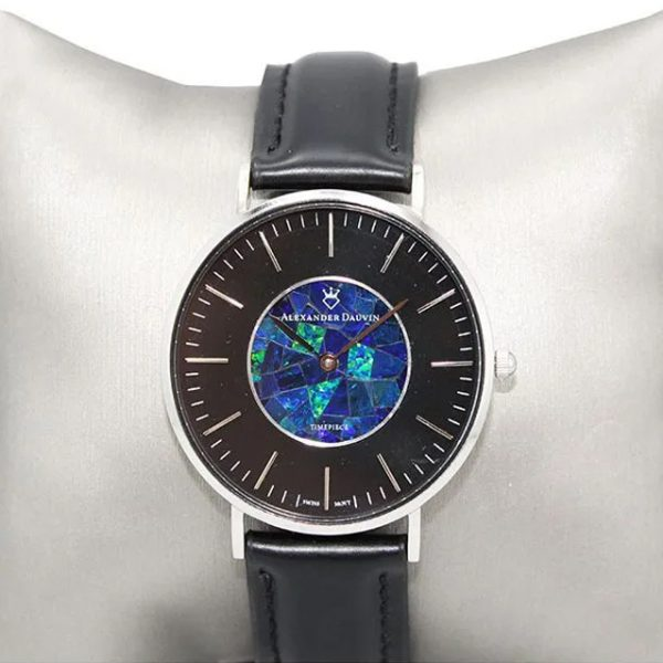 """In Black"" Opal Watch - 40mm"