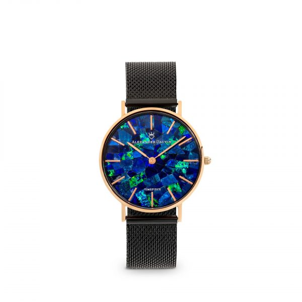Classic Cliff Blue Opal Watch - 32mm