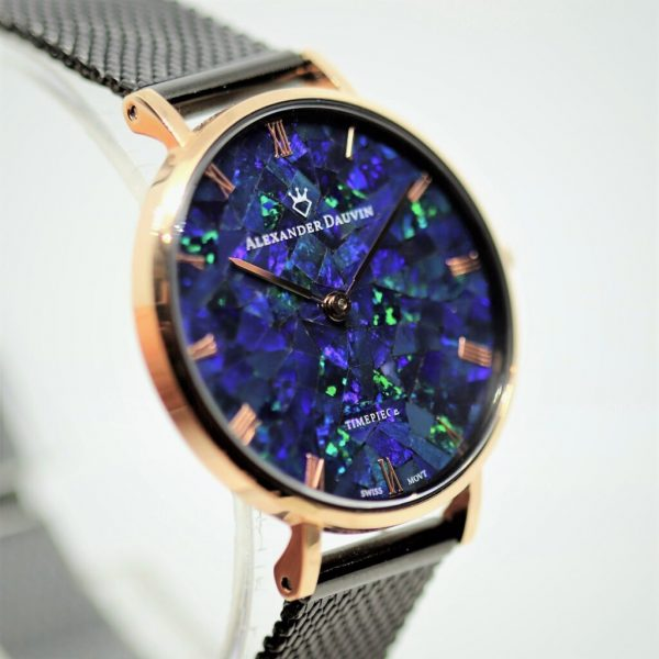 Violet Classic Cliff Opal Watch - 32mm